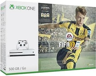 Microsoft Xbox One S FIFA 17 Bundle 1TB White in Pakistan