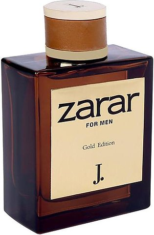 Junaid Jamshed J. Zarar Gold Edition For Men Eau de Parfum 100ml