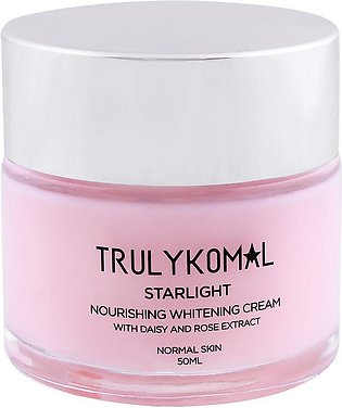 Truly Komal Starlight Nourishing Whitening Cream, 50ml