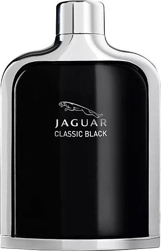Jaguar Classic Black Eau De Toilette, Fragrance For Men, 100ml