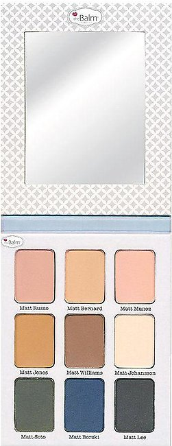 theBalm Meet Matt(e) Ador Matt Eyeshadow Palette 21.6gm