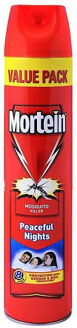 Mortein Peaceful Nights Mosquito Killer Spray, Value Pack, 550ml