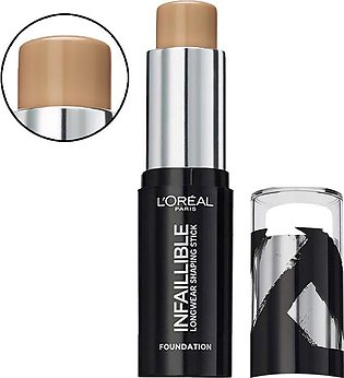 L'Oreal Paris Infallible Longwear Shaping Stick Foundation, 210 Cappuccino