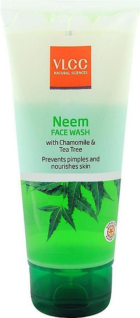 VLCC Natural Sciences Chamomile & Tea Tree Neem Face Wash 150ml