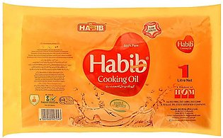 Habib Cooking Oil 1 Litre Pouch