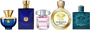 Versace Miniatures Perfume Collection Set, For Men, Mini Perfumes, 5-Pack