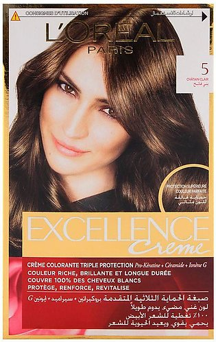 L'Oreal Paris Excellence Hair Color Light Brown 5