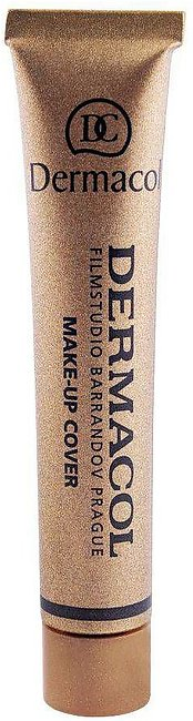 Dermacol Make-Up Cover, 224, SPF 30 Hypoallergenic Foundation, 30g