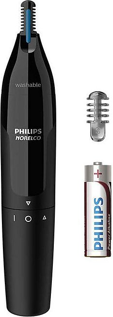 Philips Norelco 1000 Ultimate Comfort Nose Trimmer, Nose, Ears, & Brows, NT16...