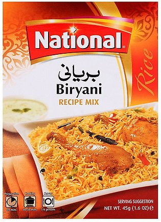 National Biryani Masala Mix 45gm