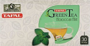 Tapal Green Tea Moroccan Mint Bags 30-Pack