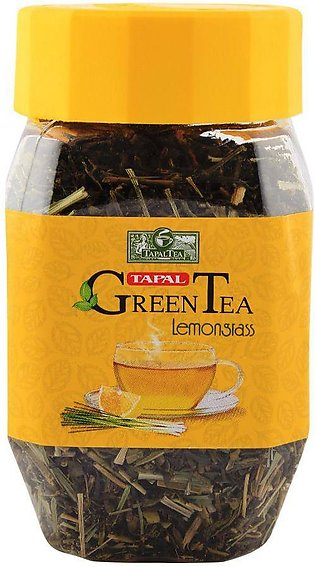Tapal Green Tea lemon Grass Jar 100gm