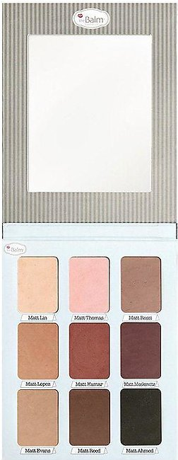 theBalm Meet Matt(e) Trimony Matt Eyeshadow Palette 21.6gm