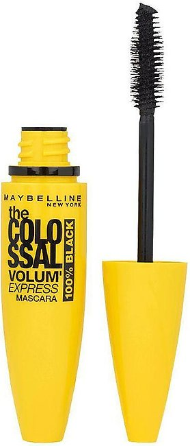 Maybelline New York Volum' Express Colossal Mascara 100% Black