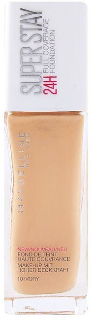 Maybelline New York Superstay 24h Foundation, 10 Ivory