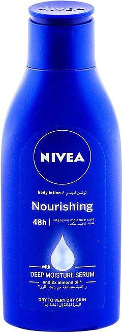 Nivea 48H Nourishing Lotion, Dry To Very Dry Skin, 125ml