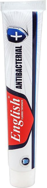 English Fluoride Antibacterial Toothpaste, 140g