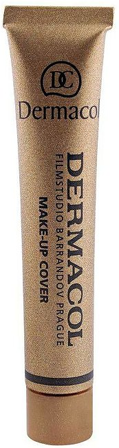 Dermacol Make-Up Cover, 212, SPF 30 Hypoallergenic Foundation, 30g