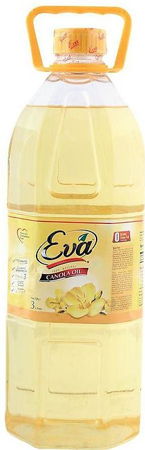 Eva Canola Oil 3 Litres Bottle