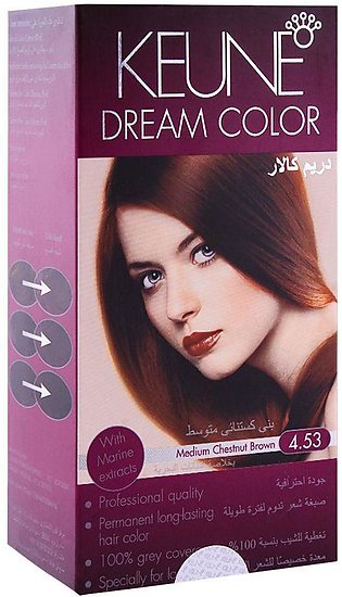 Keune Dream Color 4.53 Medium Chestnut Brown