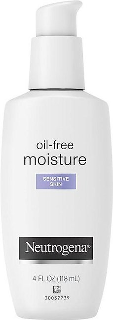 Neutrogena Oil-Free Moisture Facial Moisturizer, Sensitive Skin, 118ml