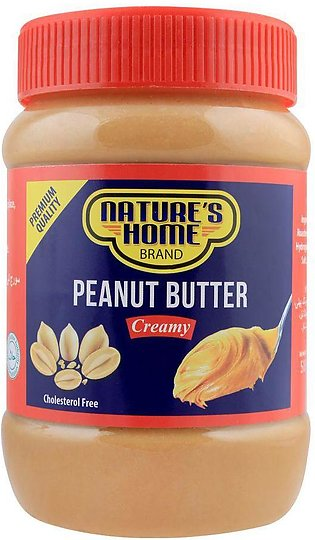 Nature's Home Peanut Butter, Creamy, 510g