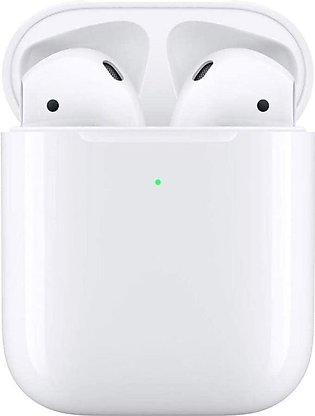 Apple Airpods With Wireless Charging Case, MRXJ2ZA/A