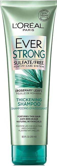 L'Oreal Paris Ever Strong Rosemary Leaf Thickening Shampoo, Sulfate Free, 250ml