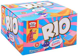 Peek Freans Rio Cotton Candy Biscuits, 12 Snack Packs