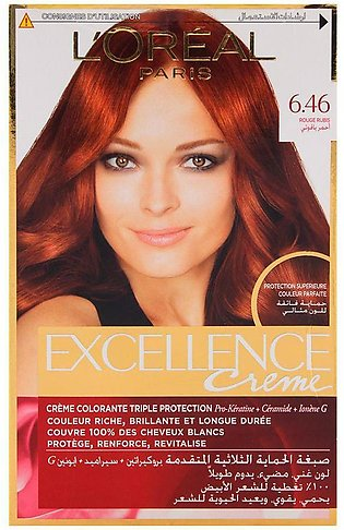 L'Oreal Paris Excellence Hair Color Ruby Red 6.46