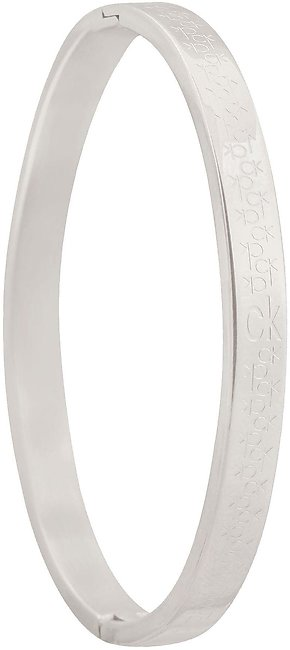 CK Girls Bangle, Silver, NS-020