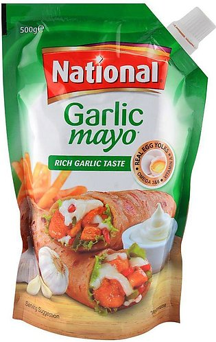 National Garlic Mayo 500gm