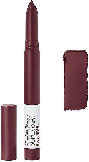 Maybelline New York Superstay Ink Crayon Lipstick, 65 Settle For ME