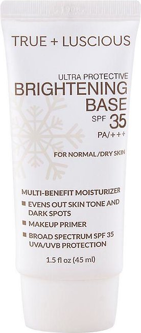 Luscious Cosmetics Ultra Protective Brightening Base, SPF 35 PA+++, For Normal/…