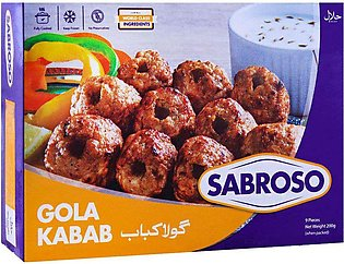 Sabroso Chicken Gola Kabab, 9 Pieces, 200g