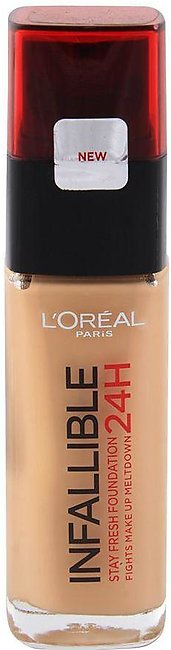 L'Oreal Paris Infallible 24H Stay Fresh Foundation, 200 Golden Sand