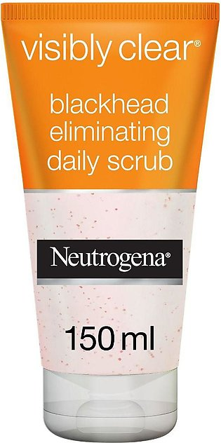 Neutrogena Visibly Clear Blackhead Eliminating Scrub 150ml