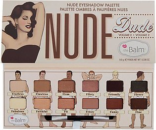 theBalm Nude Dude Eyeshadow Palette Vol-2 9.6g