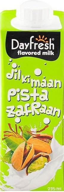 Day Fresh Pista Zafraan Milk 235ml