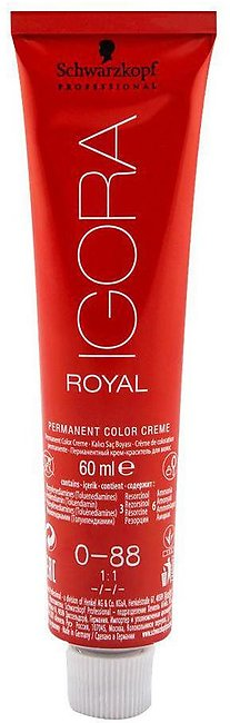 Schwarzkopf Igora Royal Hair Color 0-88 Red Concentrate