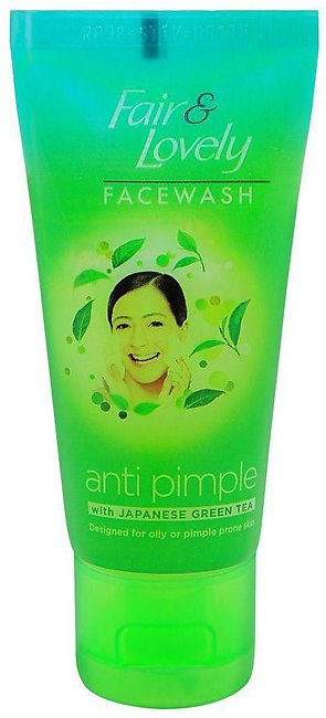 Fair & Lovely Anti Pimple Japanese Green Tea Face Wash, 50g