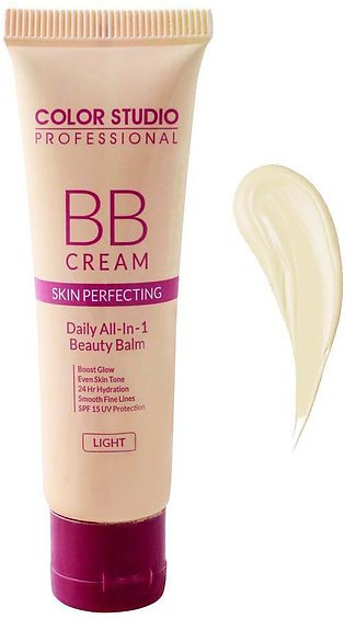 Color Studio Skin Perfecting BB Cream, Daily All-In-1 Beauty Balm, Light, 30ml
