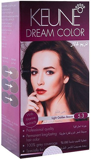 Keune Dream Color 5.3 Light Golden Brown