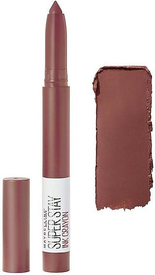 Maybelline New York Superstay Ink Crayon Lipstick, 20 Enjoy The View