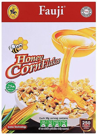 Fauji Honey Corn Flakes 250gm
