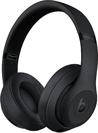 Beats Studio 3 Wireless Noise Canceling Headphones, Matte Black