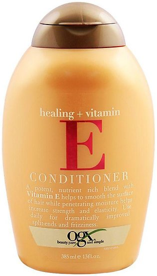 OGX Healing + Vitamin E Conditioner, Sulfate Free, 385ml