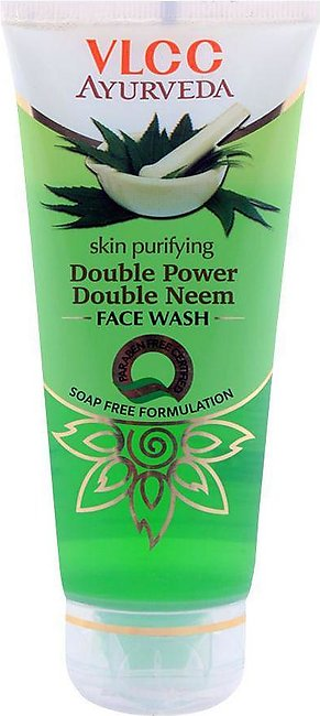 VLCC Ayurveda Skin Purifying Double Power Double Neem Face Wash 100ml