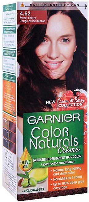 Garnier Color Natural Hair Colour, 4.62, Sweet Cherry