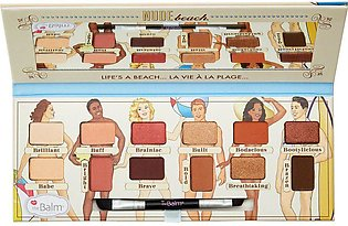 theBalm Nude Beach Eyeshadow Palette Vol-3 9.6g